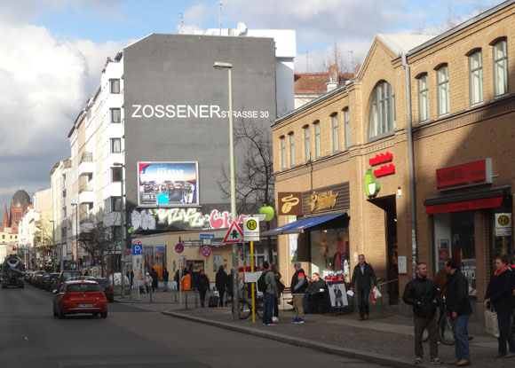 Marheinecke market hall and Zossener Straße